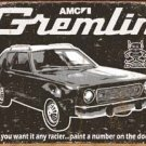 AMC Gremlin Car Tin Sign #1414