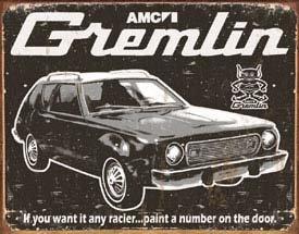 AMC Gremlin Car Tin Sign #1414