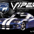 Dodge Viper Car Tin Sign #910