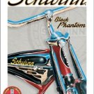 Schwinn Bicycle Black Phantom Bike Tin Sign #1381