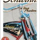 Schwinn Bicycle Black Phantom Bike Tin Sign #1381