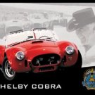 Shelby Cobra Car Tin Sign #1016