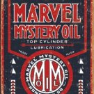 Marvel Mystery Motor Oil Tin Sign #1389