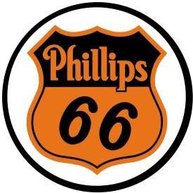 Phillips 66 Round Tin Sign #794