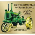 John Deere Tractor Tin Sign #709