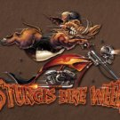 Sturgis Bike Rally Motorcycle Tin Sign #1399
