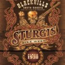 Sturgis Bike Rally Motorcycle Tin Sign #1509
