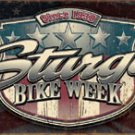 Sturgis Bike Rally Motorcycle Tin Sign #1397