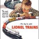 Lionel Train Tin Sign #1305