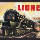 Lionel Train Tin Sign #771