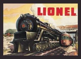Lionel Train Tin Sign #771