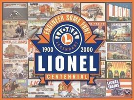 Lionel Train Tin Sign #933