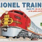 Lionel Train Tin Sign #1126