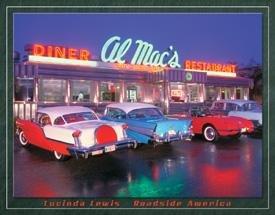 Al Macs Hot Rod Diner Tin Sign #1129