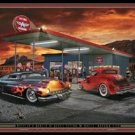Hot Rod Oasis Tin Sign #1275