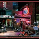 Motorcycle Biker Bar Tin Sign #1326