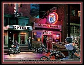 Motorcycle Biker Bar Tin Sign #1326