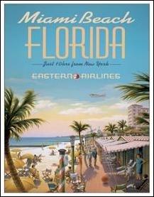 Miami Beach Tin Sign #1162
