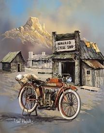 Indian Motorcycle Tin Sign #1030