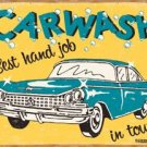 Best Carwash Tin Sign #1190