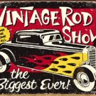 Hot Rod Show Tin Sign #1324