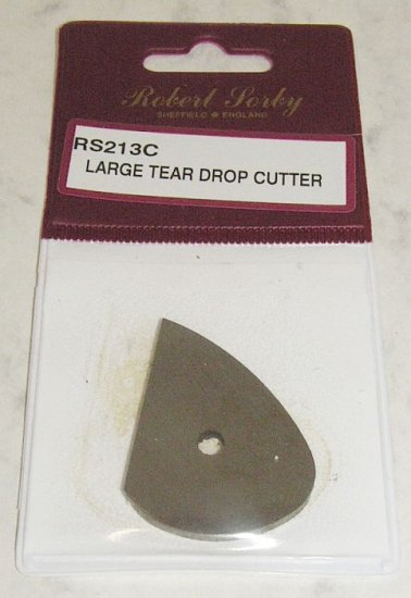 SORBY NEW Teardrop Cutters Wood Turning RS213C