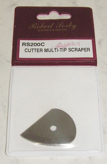 SORBY  Medium Teardrop Scraper Cutter Wood Turning RS200C