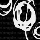 Simple Scribble - 12x12 - Black