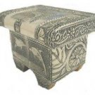 Dolphin and Elephant Embossed Jewelry Box