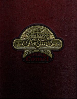 1981 Comet, Stephen F. Austin High School, Austin, Texas Yearbook