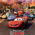 DISNEY PIXAR CARS FAMOUS Movie Poster - NEW 24X36