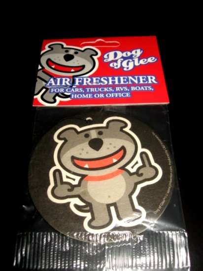 Dog O Glee Humor Air Freshener Punk Emo Goth Design