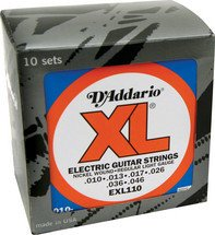 EXL110 Regular Light Gauge Electric Guitar Strings ProPack