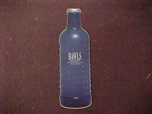 Bawls Bottle Shaped Stickers