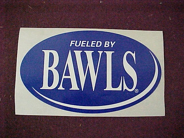 Fueled by Bawls Stickers