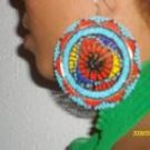 Beaded Colorful Earrings