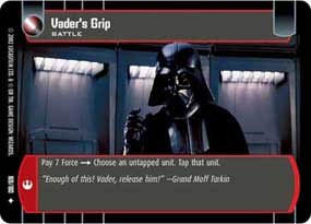 #169 Vader's Grip