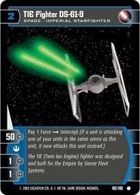 #165 TIE Fighter DS-61-9