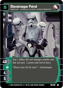 #160 Stormtrooper Patrol