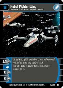 #149 Rebel Fighter Wing