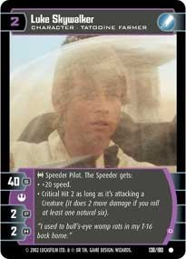 #138 Luke Skywalker (D)