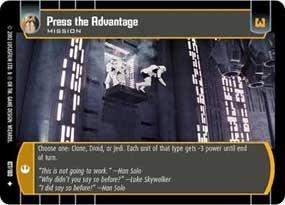 #107 Press the Advantage