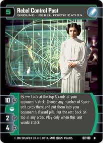 #102 Rebel Control Post