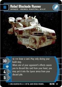#100 Rebel Blockade Runner
