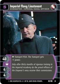 #82 Imperial Navy Lieutenant