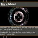 #76 Error in Judgment