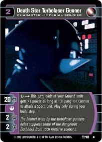 #72 Death Star Turbolaser Gunner