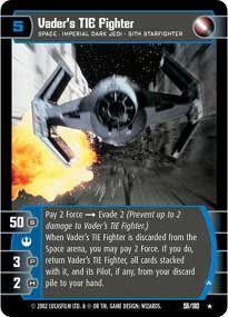 #58 Vader's Tie Fighter (A)
