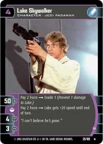 #25 Luke Skywalker (B)