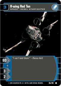#104 X-Wing Red Ten